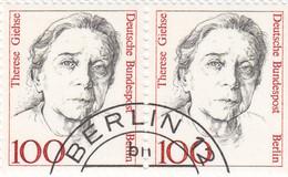 Berlin 1988 - Nr. 825 - Dauerserie Frauen Der Deutschen Geschichte Gstempelt - T Giehse - Oblitérés