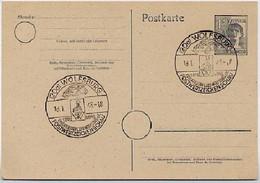 Postkarte P962 PF V PLATTENFEHLER  Sost. VW KÄFER Wolfsburg  1948 - Zone AAS