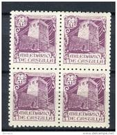 España 1944. Edifil 977 X 4 ** MNH. - 1931-50 Neufs