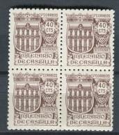 España 1944. Edifil 978 X 4 ** MNH. - 1931-50 Neufs