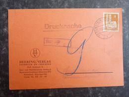 1948 DEUTSCHLAND Drucksache TRAUNSTEIN - Heering Verlag SEEBRUCK Am CHIEMSEE - Lettres & Documents