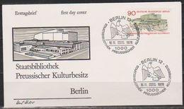 Berlin FDC 1978 Nr.577  Eröffnung Staatsbibliothek Preußischer Kulturbesitz, Berlin ( D 4985 ) Günstige Versandkosten - FDC: Enveloppes