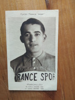 Cyclisme - Carte Publicitaire FRANCE SPORT : MARCAILLOU - Cycling