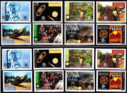Europa Cept - 2005 - Benin - Complete Set Of 16 Stamp (imperf.+perf.) ** MNH - 2005