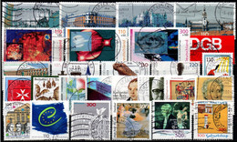 # 1999 Germania Federale - 27 Francobolli Usati - Oblitérés