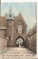 Mont-Saint-Amand - Béguinage Porte D'Entrée 1904  (Geanimeerd) - Gent