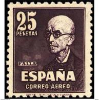 ES1015SF-LFT***1015TAN ..España.Spain.Musica,MANUEL DE FALLA.1947. (Ed 1015**) - 1931-50 Neufs