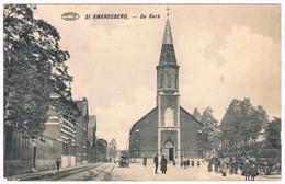 St. Amandsberg - De Kerk   (Geanimeerd) - Gent