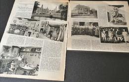 DEURNE..1933.. HET MUSEUM VAN VLAAMSCHE BESCHAVING IN HET STERCKXHOF TE DEURNE - Sin Clasificación