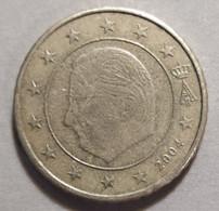 2004 - BELGIO  - MONETA IN EURO -  VALORE  DI  50  CENTESIMI  - CIRCOLANTE - Belgien