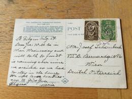 K17 Österreich 1919 AK Washington Von St. Gilgen Nach Wien - Lettres & Documents