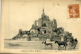 Abbaye Du Mont-St-Michel , Vue Générale - Le Mont Saint Michel
