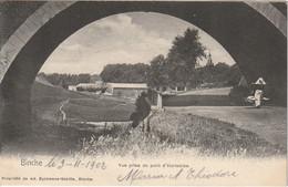 Binche - Vue Prise Du Pont D' Huretbise - 1902 - Propr. De Ad. Eyckmans-Sébille, Binche - Binche