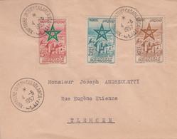 Enveloppe   MAROC   Oblitération   Foire  Internationale  De   CASABLANCA   1957 - Maroc (1956-...)