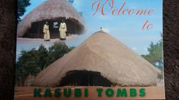 CPM UGANDA OUGANDA KASUBI TOMBS  BAGANDA MAIN ENTRANCE HOUSE BUJJAKULA ROYAL GUARDS MULUMBA - Uganda