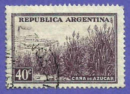 Argentina. 1936. Scott # 443. Caña De Azucar - Oblitérés
