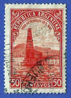 Argentina. 1936. Scott # 444. Pozo Petrolifero En El Mar - Oblitérés