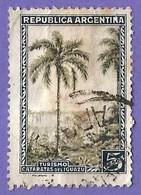 Argentina. 1936. Scott # 448. Cataratas De Iguazu - Oblitérés