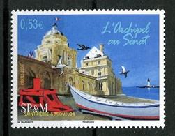 SPM Miquelon 2006  N° 866 **  Neuf MNH  Superbe C 2.10 € Palais Du Luxembourg Bateaux Oiseaux Birds Boats Transports - Neufs