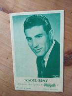 Cyclisme - Carte Publicitaire HELYETT : Raoul REMY - Cycling