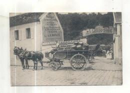 Epernon, L. Lebouc, Fabrique D'extrait De Javel, Bières 1er Marques, Eaux Gazeuses (CP Vendue Dans L'état) - Epernon