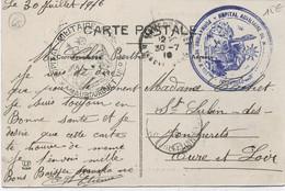 Cachet Militaire  : 65 MAUBOURGUET - Guerra De 1914-18