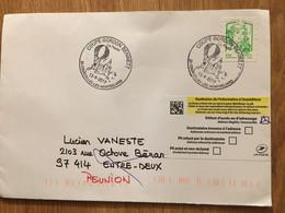 Courcelles Les Montbéliard 2019 Coupe Gordon Bennett Ballon Montgolfière - Commemorative Postmarks