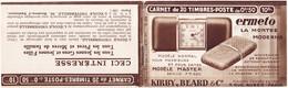 23122# CARNET DE 20 TIMBRES POSTE DE 0,50 Prix 10 Francs Vide S 199 ERMETO MONTRE MODERNE - Usage Courant