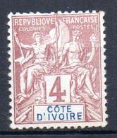 ColTGC  Cote D'Ivoire N° 3  Neuf XX MNH  Cote 11,00€ - Neufs