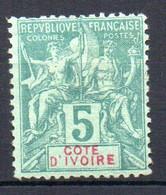 ColTGC  Cote D'Ivoire N° 4  Neuf XX MNH  Cote 30,00€ - Neufs