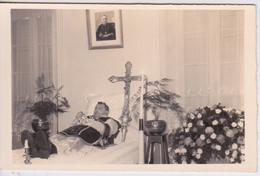 PHOTO MORTUAIRE - POST MORTEM - DEFUNT - PRETRE CURE SOUTANE CROIX - Other