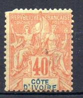 ColTGC  Cote D'Ivoire N° 10  Neuf XX MNH  Cote 65,00€ - Neufs