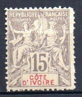 ColTGC  Cote D'Ivoire N° 15 Faux Fournier  Neuf XX MNH  Cote 50,00€ - Neufs