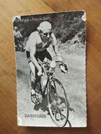 Cyclisme - Carte FRANCE SOIR : André DARRIGADE - Cycling