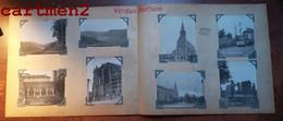 8 PHOTOGRAPHIES ENVIRONS DE VERDUN MONTFAUCON BENEDICTION DE LA NOUVELLE EGLISE GRANDE RUE DU NOUVEAU VILLAGE MEUSE - Verdun