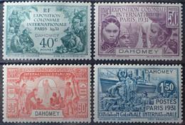R2452/313 - 1931 - EXPOSITION COLONIALE De PARIS - SERIE COMPLETE - COLONIES FR. - DAHOMEY - N°99 à 102 NEUFS* - Unused Stamps