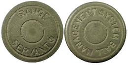 01675 GETTONE TOKEN JETON GOLF EQUIPMENT RANGE SERVANT MANAGEMENT SYSTEM BALL - Unclassified