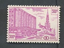 1953 300F. Jonction Nord-Midi.  TR336/354B **. Cote  200,- Euros. LUXUS Postfrich - 1952-....