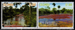 A554O-COLOMBIA- 2017 - MNH- UPAEP - TOURISTIC PLACES  - - Colombia