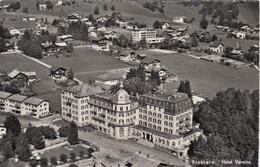 SWITZERLAND-SCHWEIZ-SUISSE-SVIZZERA-KLOSTERS-HOTEL=VEREINA=-CARTOLINA VERA PHOTO-VIAGGIATA IL 25-7-1966 - GR Grisons
