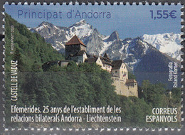 Andorra Español 2020 Château De Vaduz Neuf ** - Ongebruikt