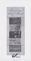 GCC1 2012 - Schrijf Elkaar / Ecrivez-vous (B126) - Black-and-white Panes