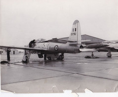 4 Photographies Aviation En Indochine Guerre Du Vietnam 1950 Accident Tonkin Annam Saigon Cochinchine + Porte-avion - Aviation