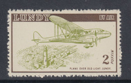 #16 Great Britain Lundy 1954 Jubilee Undated Cream Paper Cat#108(a) M Lighthouse Half Price-Limited Time! - Local Issues