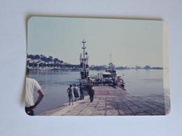 INDRET - PHOTO Le Bac Traversant La Loire Pour Basse-Indre En 1983  -  A2265 - Non Classificati
