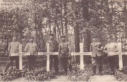 (55) - Grand Tranché Heldengrâber  Carte Allemande 1° Guerre - Autres Communes