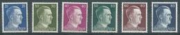 Allemagne Empire YT N°717/722 Adolf Hitler Neuf ** - Unused Stamps