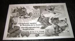 3560** Noir Et Blanc Feuille De Bloc 134 (Philatélie De La Jeunesse) Met Droogstempel - BD Jeugdfilatelie - Hojas Blanco & Negro