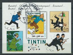 Blocs Feuillets : N° 28 Tintin Oblitéré ° - Used