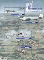 Blok 235** Vlucht Door De Tijd-Oude Belgische Vliegtuigen 4588/92**/ Vol à Travers Le Temps -Anciens Avions Belges - Nuevos